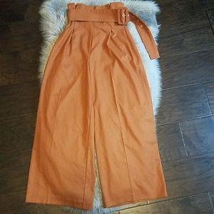 Free people wide leg trouser pant